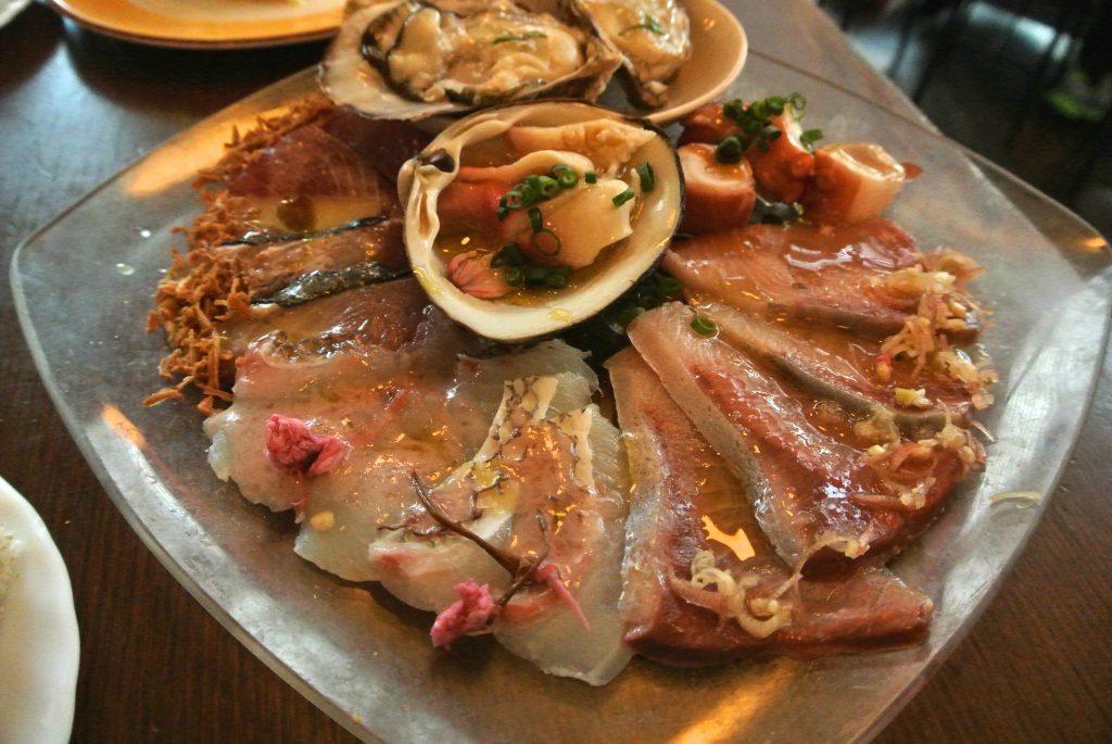 海鮮カルパッチョ