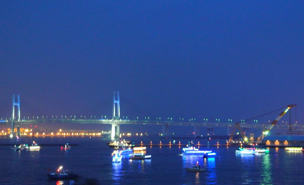 大さん橋から見える風景