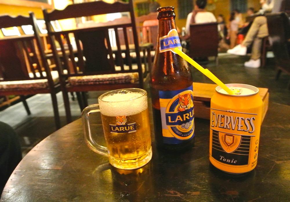 ホイアンでビール